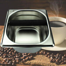 Tool Accessory Stainless Steel Coffee Knock Box for Espress Coffee Maker Machine