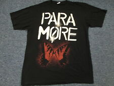 LIGHTLY WORN 2010 PARA MORE HONDA CIVIC TOUR BLACK CONCERT T-SHIRT SIZE M