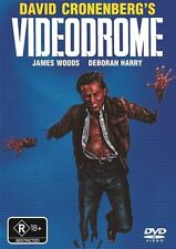 VIDEODROME David Cronenberg Debbie Harry Cult Horror Movie. R4 AUSTRALIAN DVD.