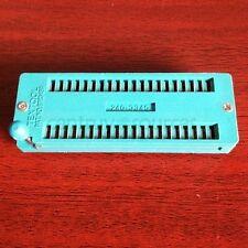 1PCS 40p 40 pin ZIF ZIP DIP IC Test Board Socket Wide Good Qualit