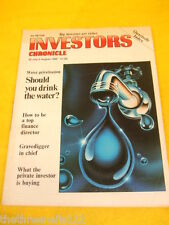 INVESTORS CHRONICLE - HOW TO BE A TOP FINANCE DIRECTOR - JULY 28 1989