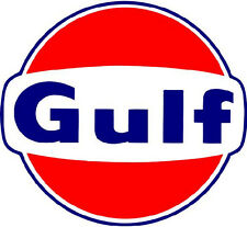 GULF GASOLINE VINYL STICKER (A465)