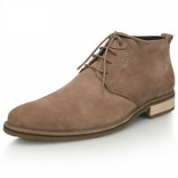 Fulinken Nubuck Leather Men shoe lace up oxford desert chukka Boots shoes