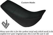 FIBRA Di Carbonio Vinile accoppiamenti personalizzati HYOSUNG RX 125 Doppia Coprisedili
