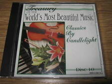 VARIOUS - CLASSICS BY CANDLELIGHT DISC 10 (CD ALBUM 1996) EXCELLENT