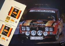 "DECAL CALCA 1/43 SEAT 1430 ""ESCUDERIA CATALUNYA"" BRUGUÉ RALLY 2000 VIRAJES 1978"