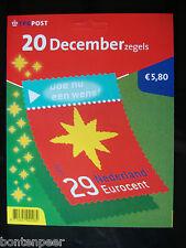 MAILER HB 2212-31 20 DECEMBERZEGELS CAT.WRD. 20,00 EURO