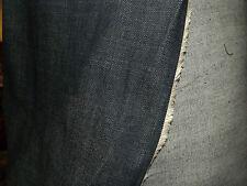 tissu jean epais bleu  100% coton vendu au metre