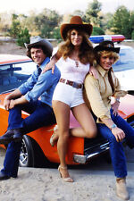 CATHERINE BACH JOHN SCHNEIDER TOM WOPAT THE DUKES OF HAZZARD 24X36 POSTER BY CAR