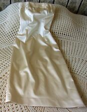 Fitted cream party dress by COAST Size 6 - 8 Satin sheen