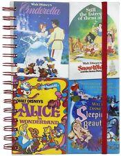 Disney Vintage Film Poster Lenticular Cover A5 Hardback Notebook - Brand New