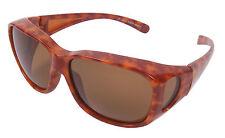 Hardcase Brillenträger Polbrille Leo Sonnen-Überbrille 100 /% UV Polarisiert f