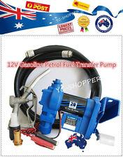 12V Petrol Gasoline Fuel Dispenser Pump + Fuel Nozzle + Hose
