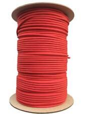5 metros Cuerda paracord 4 mm tipo III 550 Rojo - red cord