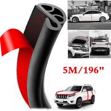 5M Black Rubber Seal Strip Molding Edge Trim Car Door Protector Collision Guard