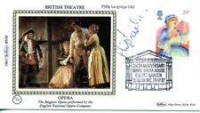 1982 British Theatre - Opera fdc SIGNED Philip Langridge, Tenor