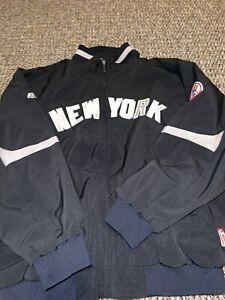 Majestic New York Yankees MLB Baseball Dugout Vintage Therma Jacket Size 2XL