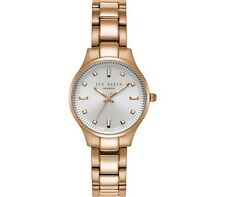 Ted Baker Zoe Rose Gold Strap White Dial Ladies' Wrist Watch TE50006001 £155.00