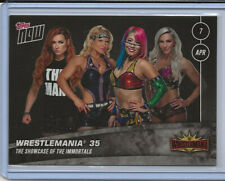 2019 WWE TOPPS NOW® Card 10  - WOMENS PREVIEW WRESTLEMANIA 35