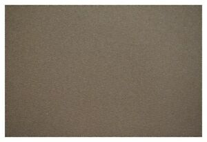 """Brown Outdoor Marine Boat Awning Canvas Fabric Marine One 60"""" Wide UV DWR"""