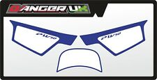YAMAHA PW 50 MOTOCROSS MX BACKGROUNDS NUMBER BOARD GRAPHICS STICKERS DECALS