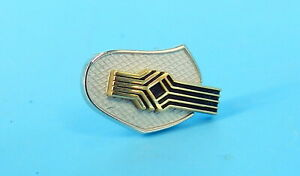 CTO 14K Signed YELLOW & WHITE GOLD TIE TACK Pin HAND SHAKE