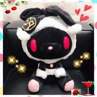 taito Chakkusu GP All purpose rabbit stuffed plush [TRIMMING COAT LOOK] black