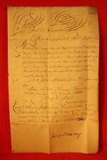 von Kiesenwetter-1813-2 handschriftliche Oberamts-Patente + 2 Schnörkelbriefe