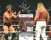 Ted DiBiase Signed Auto 8x10 Photo WWF WWE Wrestling JSA COA