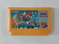 Super Mario Bros 3 NES Nintendo Famicom From Japan