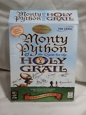 Monty Python Quest for the Holy Grail (Windows 1996) Big Box w/manual *NO GAME*