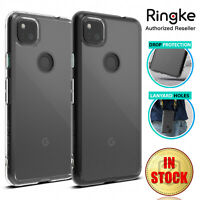 For Google Pixel 4a Case Genuine Ringke Fusion Clear ShockProof Hard Cover