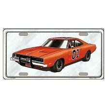 """General Lee Dukes of Hazzard Replica Novelty License Plate 6"""" x 12"""""""