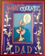 WB License Giftco Looney Tunes Mini Picture Frame Bugs Bunny World's Coolest Dad