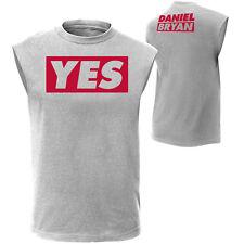 NIB WWE Authentic Daniel Bryan T-Shirt XL Yes! X-Large Muscle Tee DB BO DS WM