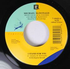 Pop Rock Unplayed 45 Michael Mcdonald - I Stand For You / East Of Eden On Repris