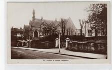 U.F. CHURCH & MANSE, BEARSDEN: Dunbartonshire postcard (C33952)