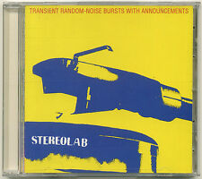STEREOLAB Transient Random-Noise Bursts With Announcements 1993 CD Elektra Recor