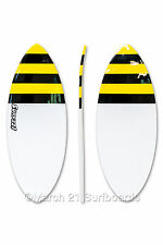 "52"" Epoxy EPS Skimboard Medium Pin Tail Bee Skim Surf"