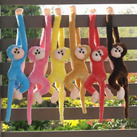 Baby Kids Soft Plush Toys Cute Long Arm Monkey Stuffed Animal Doll Xmas Gift New