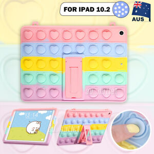"""For iPad 10.2"""" 9th 2021 8th 7th Gen Kids Case Colorful Stand Shockproof Cover"""