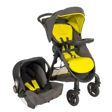 Graco Fast Action Fold Sport Travel System Lime RRP £299.99