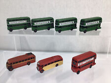 More details for 7 n gauge double & single deck buses road vehicles for model railway #632