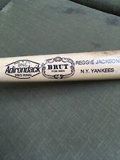 Vintage Adirondack Wood Baseball Bat Pro Ring Reggie Jackson NY Yankees BRUT