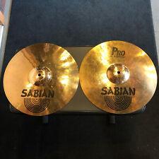 "Sabian Pro Sonix 14"" Rock Hat Hi Hat Pair"
