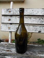 Ancienne Bouteille Verre Soufflé XVIII eme Trace Pontil 18 eme Collection Vin