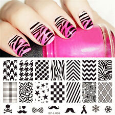 Nail art Stamping plate BPL 006 Best from  Born Pretty original plates.