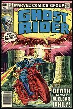 Ghost Rider (1973) #40 1st Prt Nuclear Man Atomic Explosion Mark Jewelers VG/FN