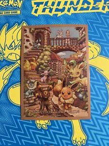 Eevee Heroes Box Eeveelutions Pokemon Card Sleeve Deck Shield Single Sleeves X10
