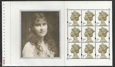 (QM2) GB QEII timbres Reine Mère Prestige booklet Pane EX DX25 2000